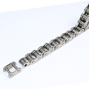 NICKEL AND ZINC PLATED TRANSMISSION ROLLER CHAIN