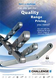 Conveyor Chain Product Flyer