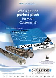 Roller Chain Product Flyer