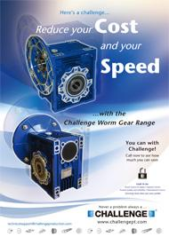 Worm Gear Product Flyer