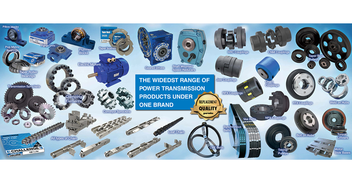 Complete Mechanical Power Transmission Drive Solutions