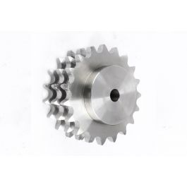 Triplex Pilot Bored Steel Sprocket - BS 20B x 019