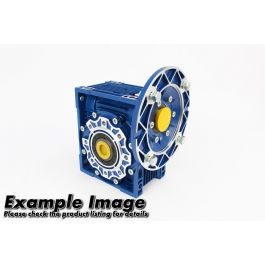 Worm gear unit size 130 ratio 50:1 with 100/112B5 flange