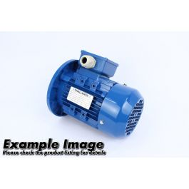 Three Phase Electric Motor 0.75KW 8 pole with B3 mount - IE3 - EML 100L-8