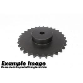 Simplex Pilot Bored Steel Sprocket ASA 100 x 08 - hardened teeth