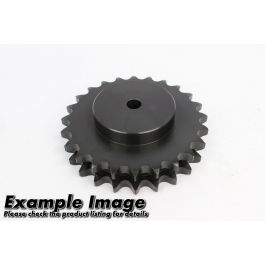 Duplex Pilot Bored Steel Sprocket ASA 160 x 22 - hardened teeth