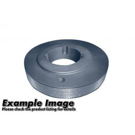 Poly V Pulley (L Section), 6 Groove, 132 OD, Style S2