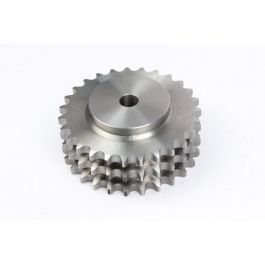 Triplex Pilot Bored Steel Sprocket - BS 32B x 027