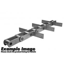 FVR040-A-80 Metric Scraper Conveyor Chain - 64p incl CL (5.04m)