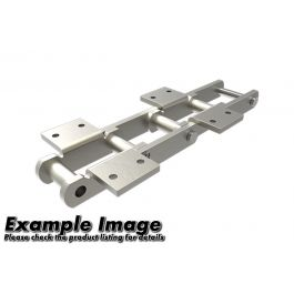 "4"" Pitch Engineered Steel Bush Chain With A1 or K1 Attachments Connecting Link - S102B"