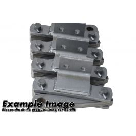 200mm Pitch Block And Bar Chain Connecting Link NF 63200 - 618kN