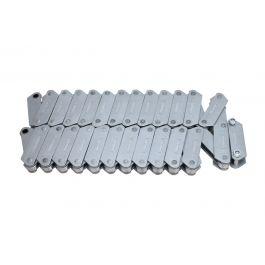 """5"""" 7500lbs Deep Link Conveyor Chain Type C (ZE40) - 40p incl CL (5.08m)"""
