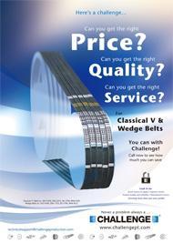 Classic V Belts Product Flyer